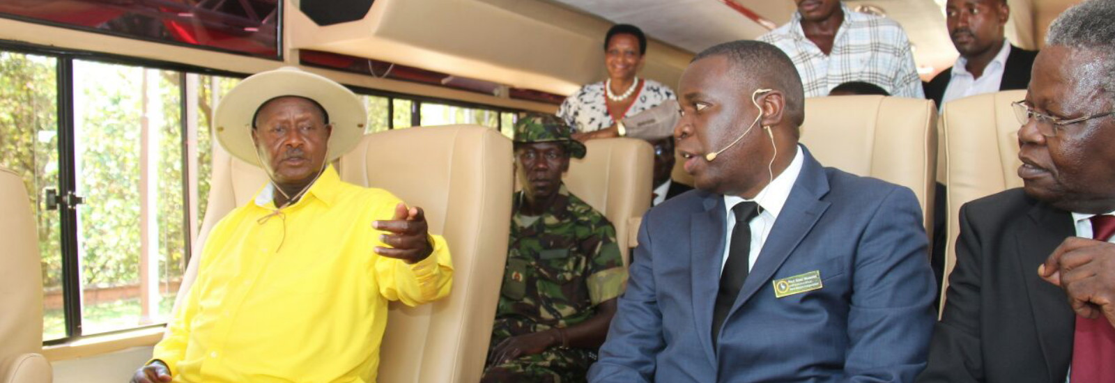 Museveni launches Kayoola EV, pledges more funding