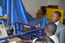 Science, Technology and Innovation Minister Visits CEDAT