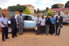 Department of Geomatics receives car