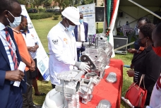 Launch of Locally Manufactured Diesel Engine