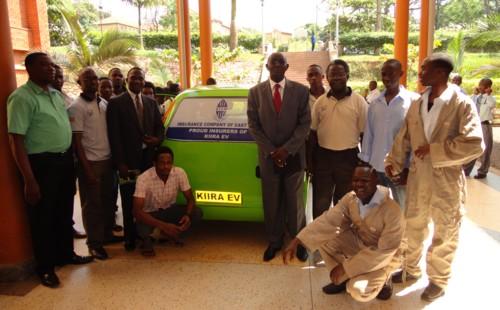 Kiira EV receives Comprehensive Insurance