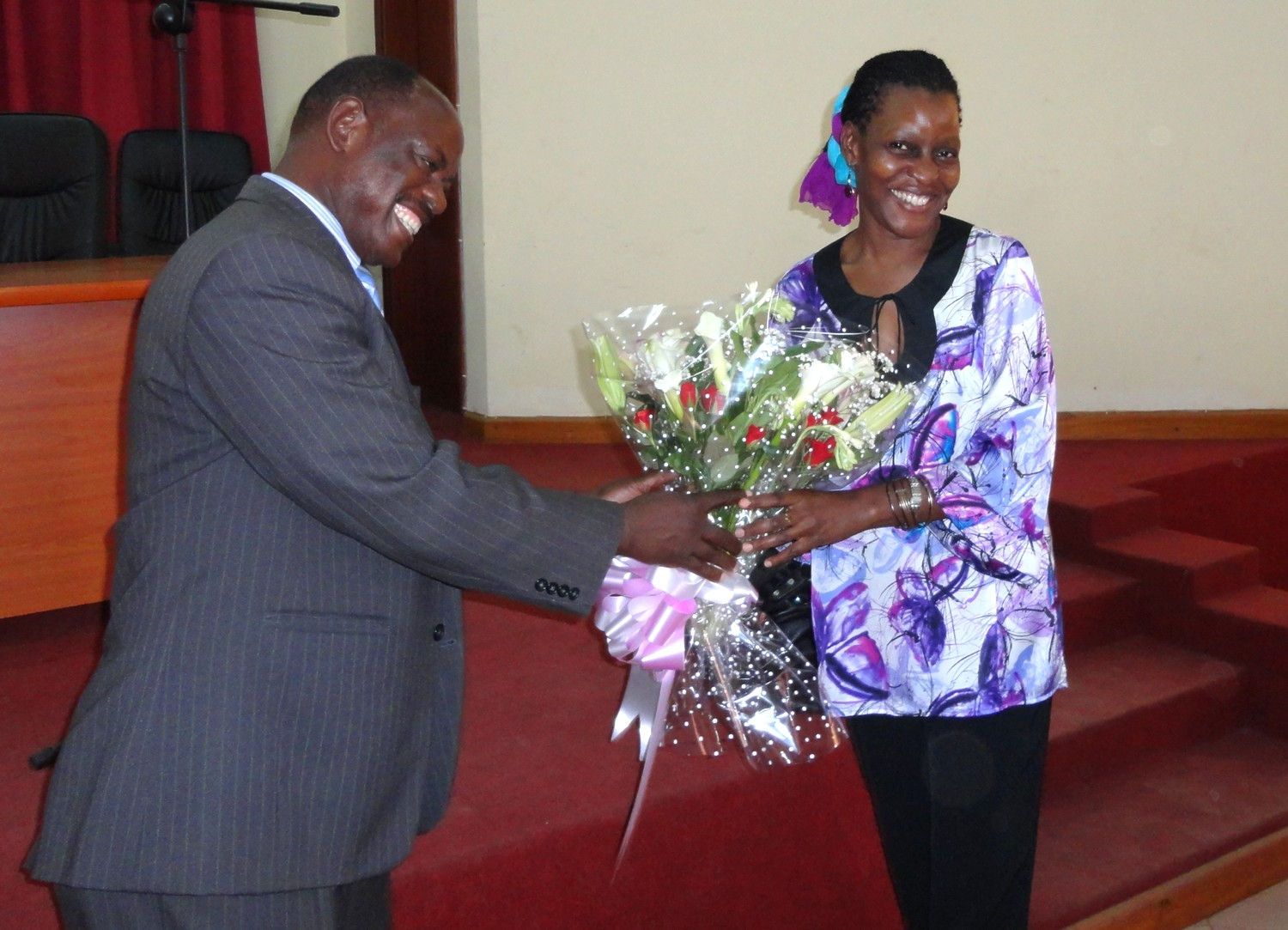 Lilian Namuganyi successfully defends her phd
