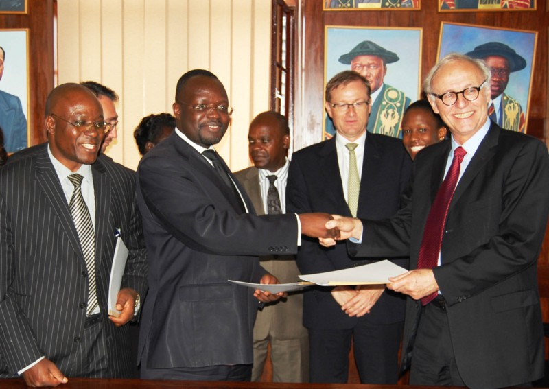 Makerere Signs MoU with Total