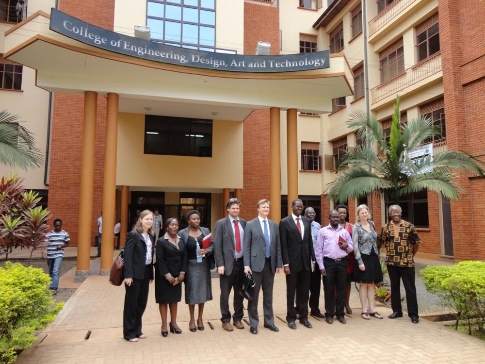 High level Norwegian delegation visits CEDAT