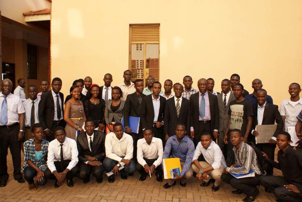 CEDAT Student Leaders Handover 2014