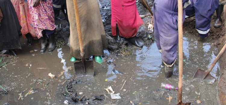 Grey water characterisation and pollutant loads in an urban slum