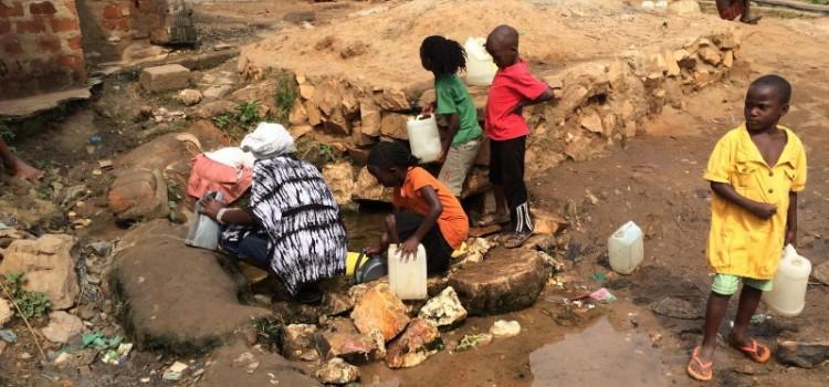 Descending the sanitation ladder in urban Uganda: evidence from Kampala Slums