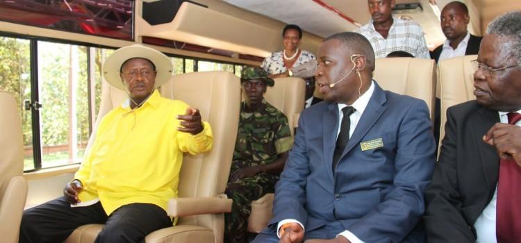 Museveni launches Kayoola EV, pledges more funding