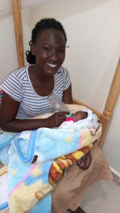ruth feeds a 5-day old baby girl