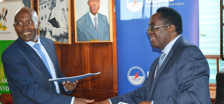 CEDAT signs MoU with UEGCL