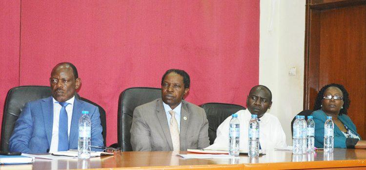 Vice Chancellor and MAK Management meet CEDAT staff