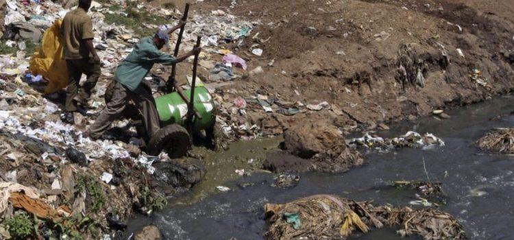 Disease burden due to gastrointestinal pathogens in a wastewater system in Kampala, Uganda