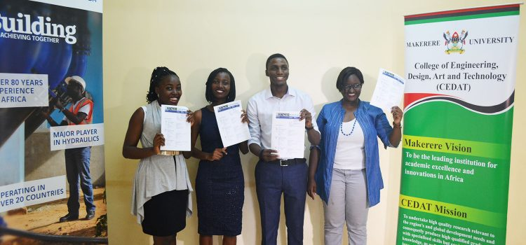 CEDAT Students Emerge Winners of The Trail Challenge Africa