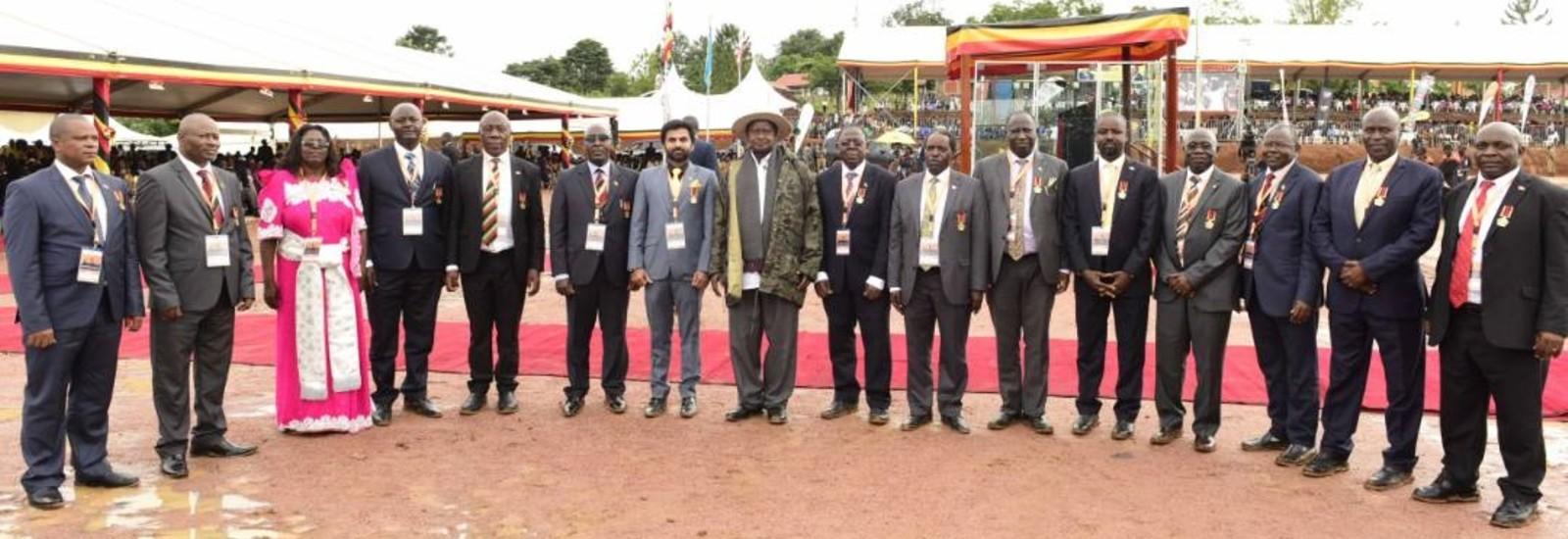 CEDAT Dons Receive Golden Jubilee Awards