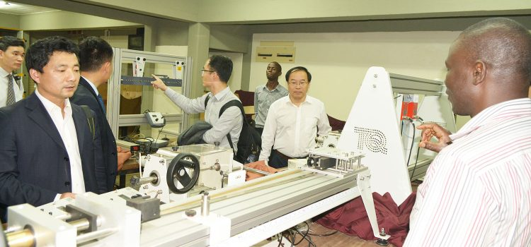 Visit from the China University of Petroleum