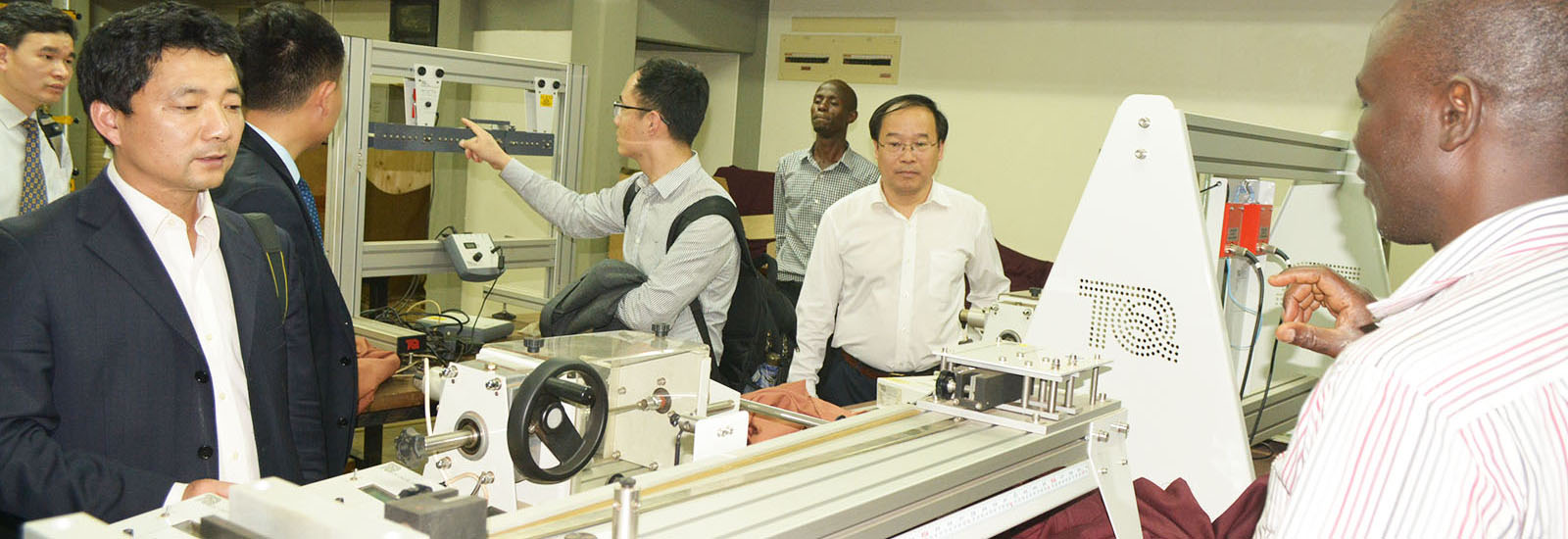 CEDAT hosts delegation from the China University of Petroleum