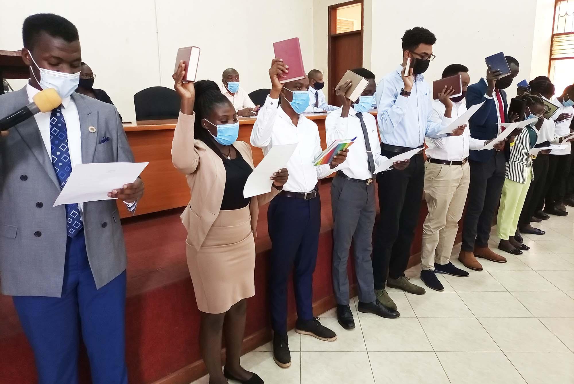New Student Leaders sworn-in