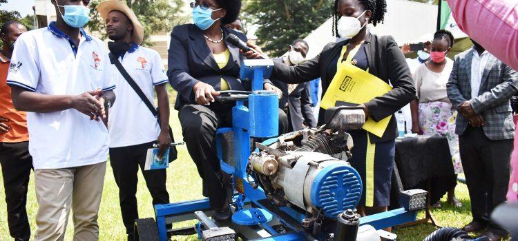 Minister Unveils Locally-Made Diesel Engine