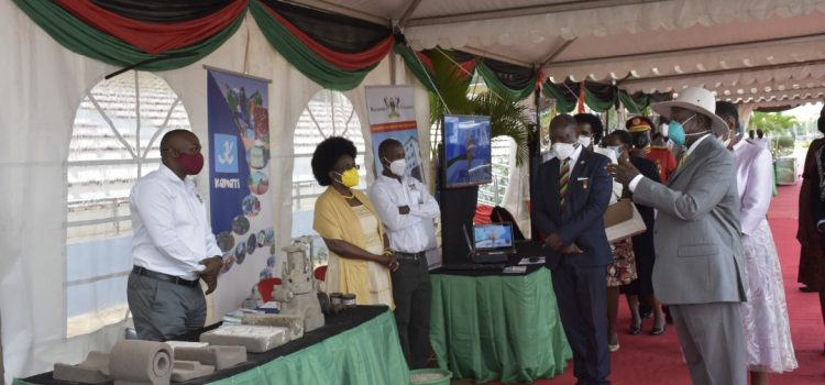 CEDAT exhibits Locally made engines as Mak launches 100-year celebrations