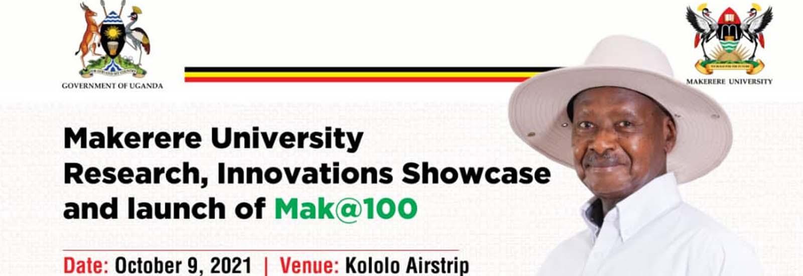 Launch of Mak@100 Celebrations